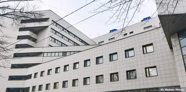 Собянин: В Москве идёт капитальный ремонт Боткинской больницы. Фото: Ю. Иванко mos.ru