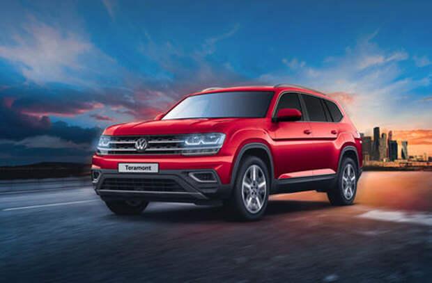 Volkswagen Teramont – теперь с новым двигателем