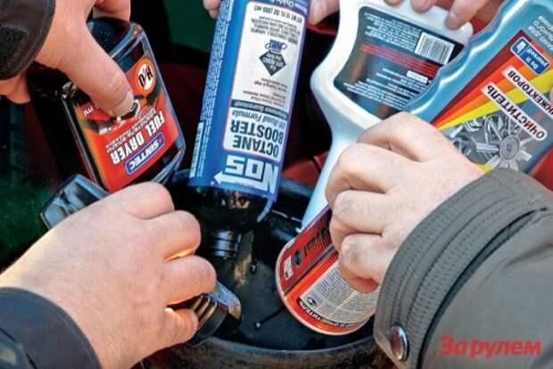 Присадки к бензину: чем запить бензин?