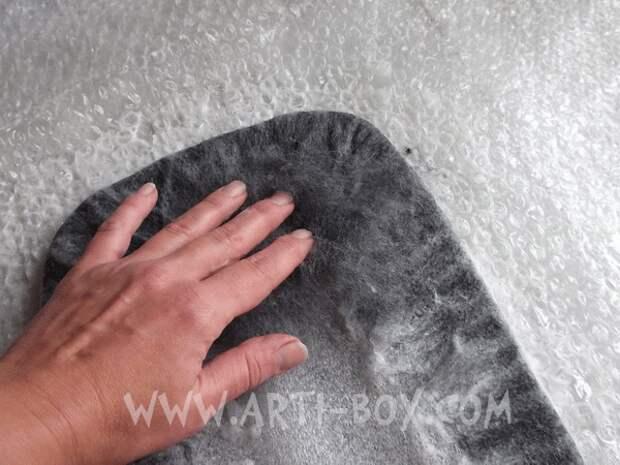 www.arti-box.com мокрое валяние сумки мастер класс