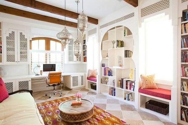 16 интересных дизайнерских решений для домашнего офиса