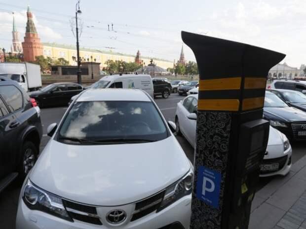 В новогодние праздники парковка в Москве будет бесплатной