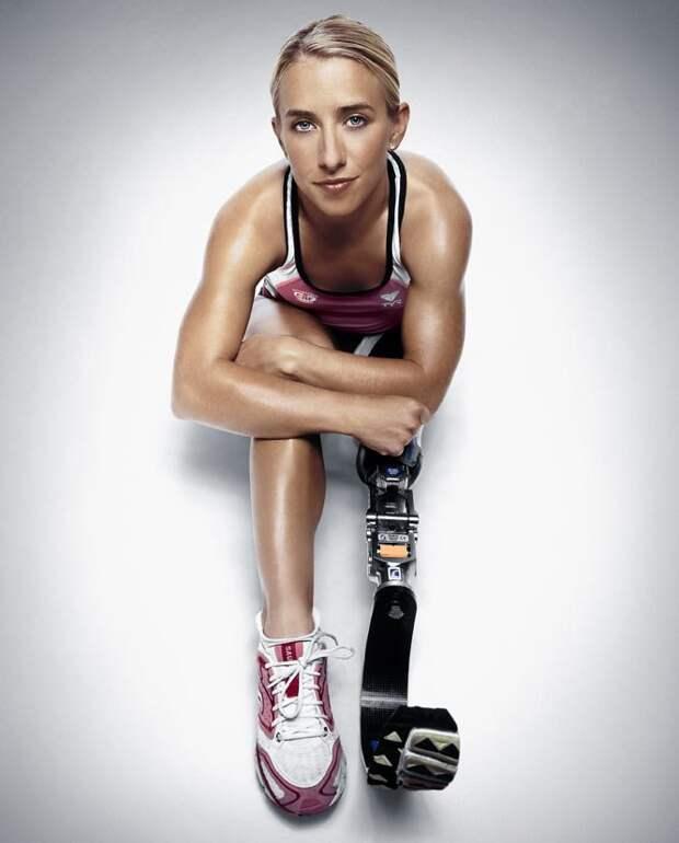 Сара Рейнертсен, спортсменка, бегунья женщины, жизнь, инвалидность, сила воли
