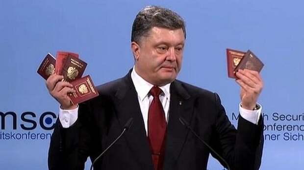 Пётр Порошенко вновь показал друзьям из ЕС «доказательства» присутствия ВС РФ на Украине