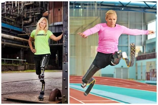 Ванесса Лов — немецкая легкоатлетка, выступающая в прыжках в длину и беге на короткие дистанции в классе T42. Паралимпийская чемпионка 2016 года в прыжках в длину с мировым рекордом 4,93 м женщины, жизнь, инвалидность, сила воли