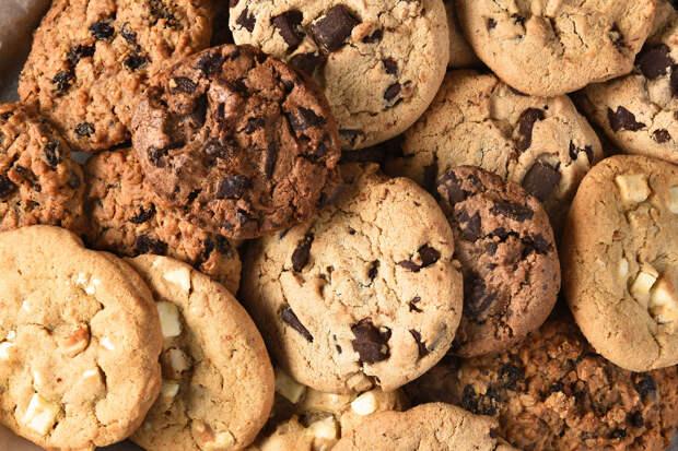Готовим дома: шоколадно-овсяное печенье
