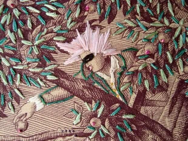 Весёлая вышивка Ричарда Сейджи