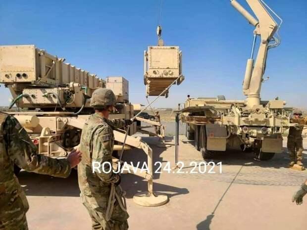 США впервые развернули ЗРК «Пэтриот» в Сирии