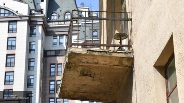 заливают балкон соседи