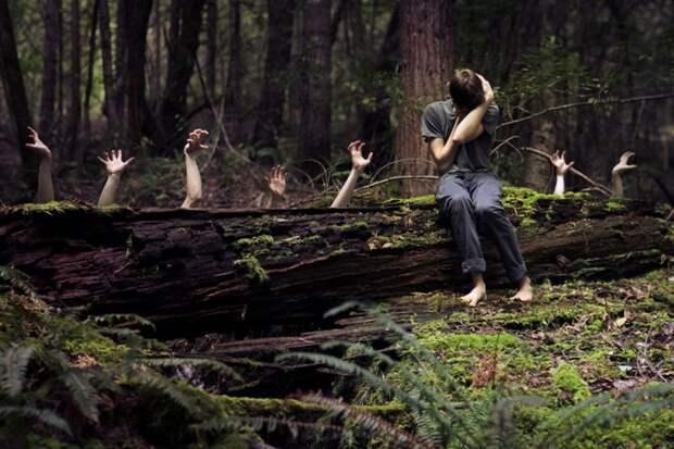 Крымчане пытались сгореть, утонуть и заблудиться в лесу!
