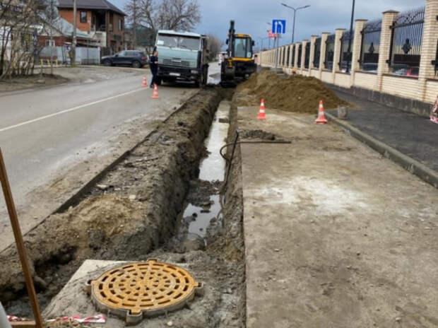 В Краснодаре приняли меры для ликвидации подтоплений на пересечении улиц Круговой и Красных Партизан