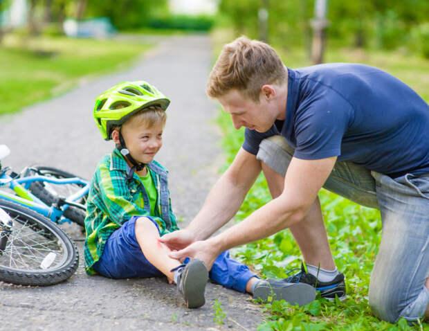 Что делать при разных травмах у детей