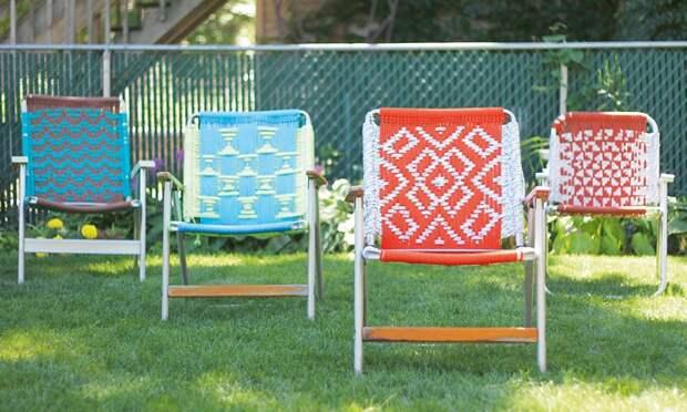 Макраме стулья (подборка + Diy)