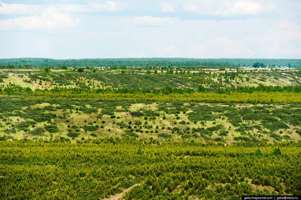 Самый крупный угольный разрез в России