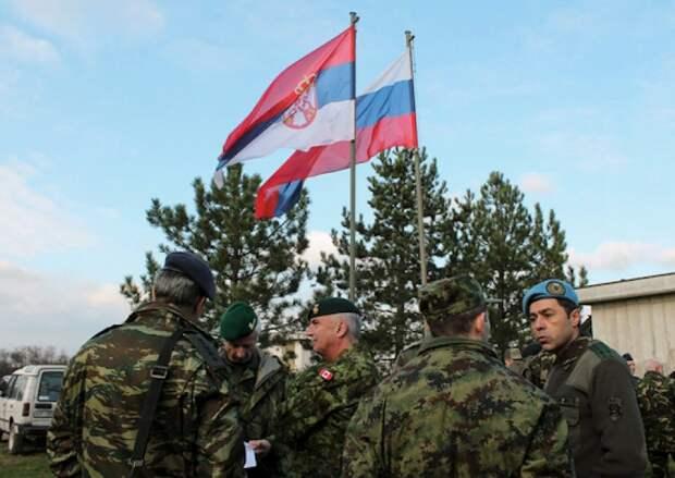 Российские военные в Сербии. Источник изображения: https://vk.com/denis_siniy