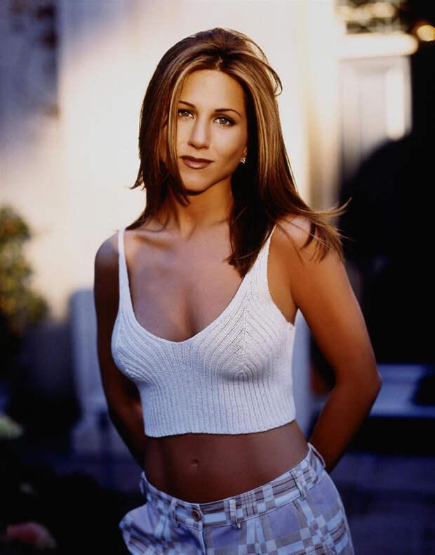 Дженнифер Энистон (Jennifer Aniston) в фотосессии Марка Селиджера (Mark Seliger) для журнала US Weekly (1998), фото 5