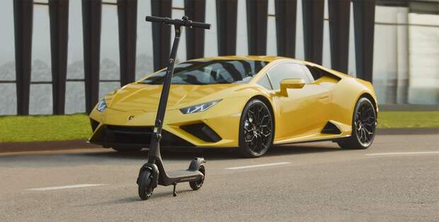 Выпущен самокат в стиле Lamborghini
