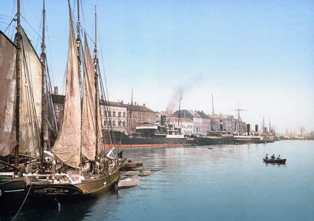 Верфь в Бремерхольме во второй половине XIX века - Датский флот Нового времени: пороки и успехи | Warspot.ru