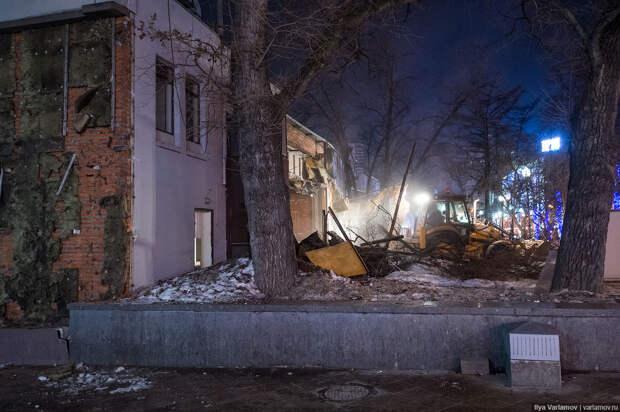 В Москве всё снесли!