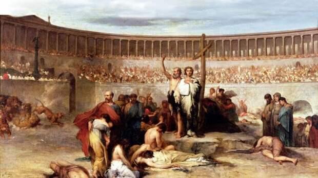 В Риме были страшные гонения на христиан. |Фото: onhistory.ru.
