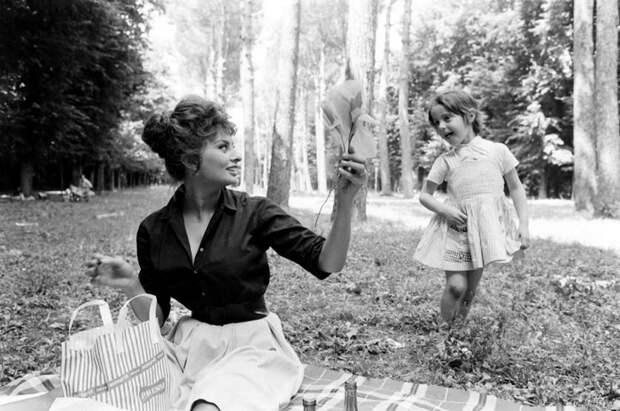 Софи Лорен, Италия, 1961 год