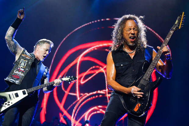 Metallica выступила в Москве