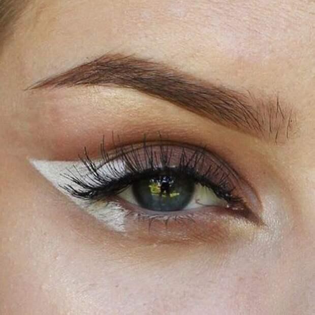 макияж со стрелками