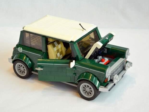 Mini Cooper теперь можно собрать в Lego