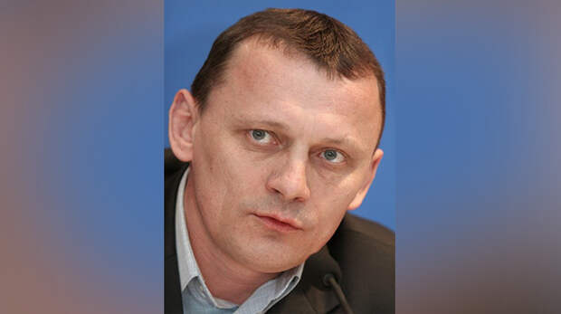 Один из руководителей националистической организации УНА-УНСО Николай Карпюк