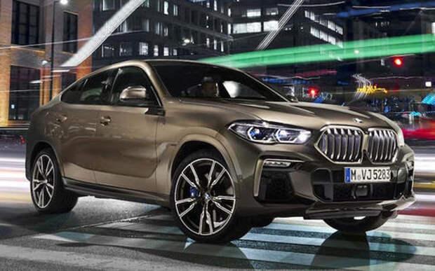 Появились первые фото обновленного BMW X6