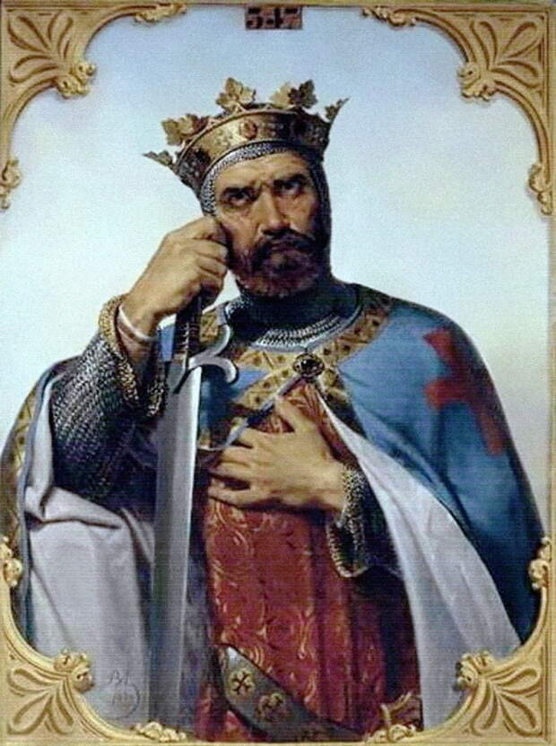 Боэмунд Тарентский, князь Антиохии. Мерри Жозеф Блондель.
