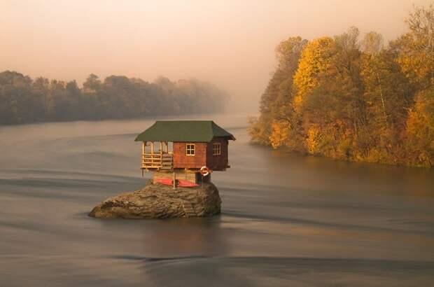 Река Дрина, Сербия