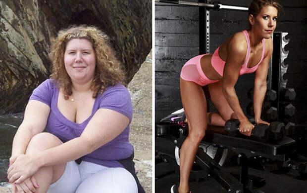 Вдохновляющие примеры того, на какие чудеса способны желание похудеть и упорный труд