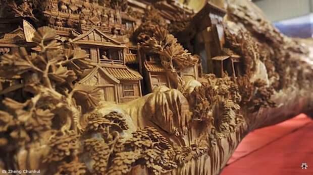 Видео: Удивительные работы из дерева, которые поражают воображение