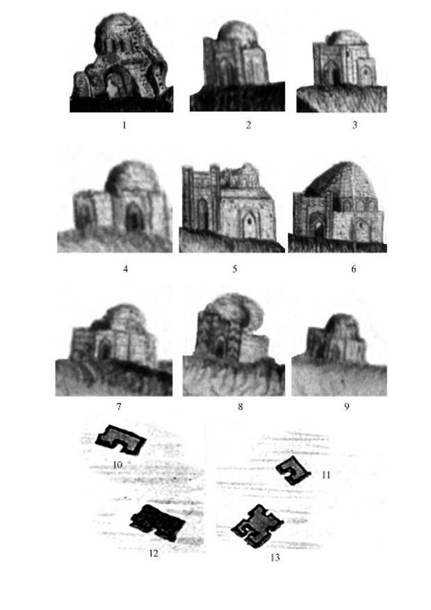 Портальные мавзолеи Маджара