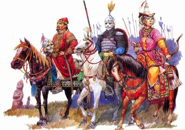 Этнический аспект политического распада Золотой Орды