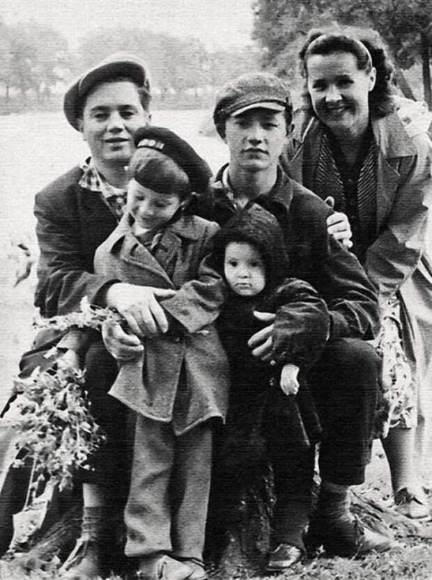 Звезды в кругу семьи