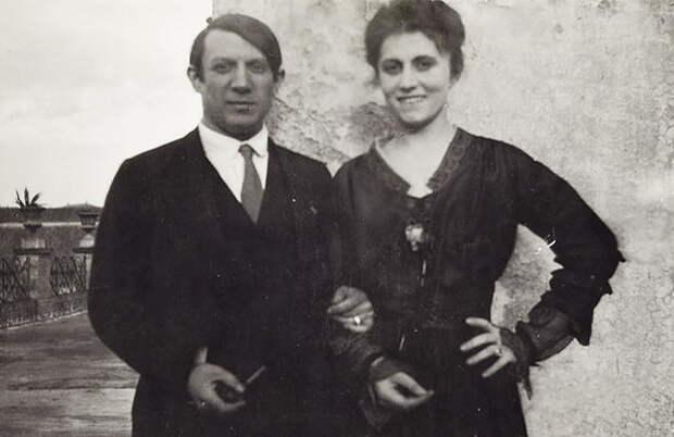 От любви до пресыщения: русская муза Пикассо и его первая жена