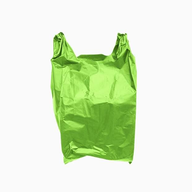 Ошибка № 5: складывать все в пластиковые пакеты