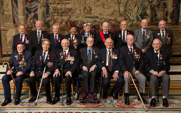 Британские ветераны Второй мировой войны