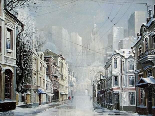 Снежный романс. Автор: Александр Стародубов.