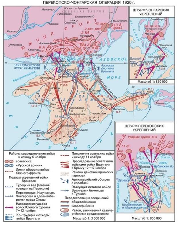 10 главных сражений Гражданской войны в России