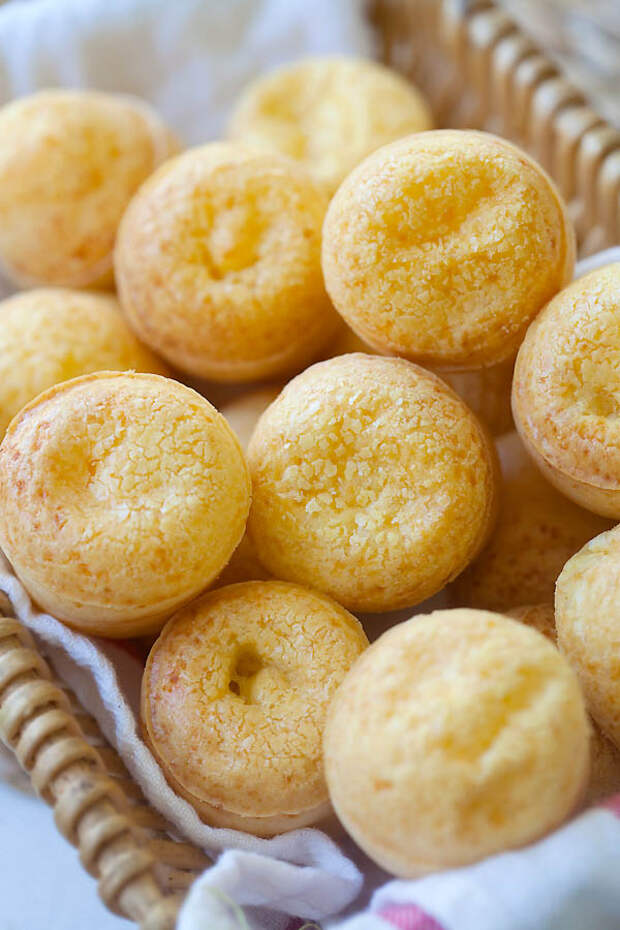 Бразильский сырный хлеб за 20 минут