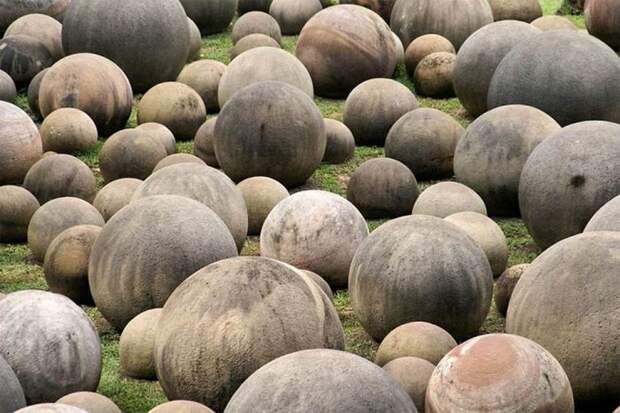 Гигантские каменные шары Коста-Рики артефакты, древность, загадка, интересное, история, находка