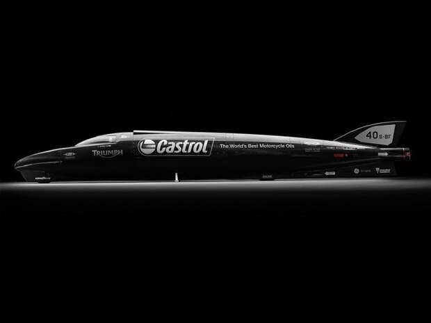 Speed Triple Rocket - эхо рекордсмена скорости