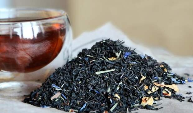 Чай с бергамотом. \ Фото: kivahan.ru.