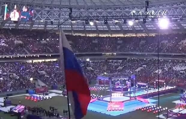 Песков рассказал о 50%-ой заполненности Лужников на концерте к годовщине присоединения Крыма