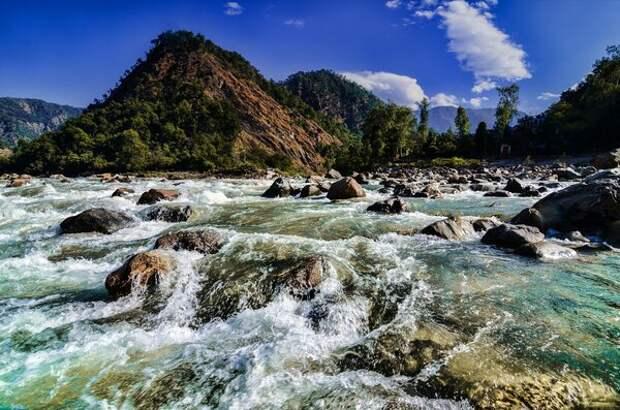 Верховья реки
