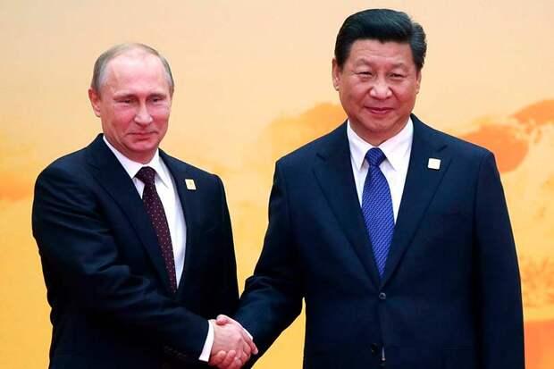 После встречи с главой КНР Путин заявил, что товарооборот превысил установленный порог и достиг $108 млрд