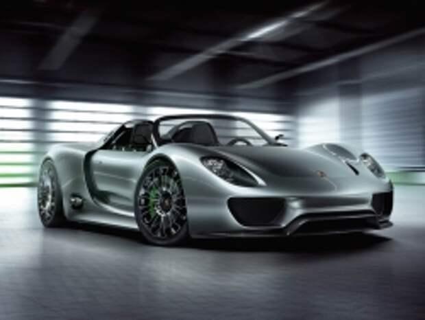 Гиперкар Porsche 918 Spyder обойдется россиянам в 47 000 000 рублей